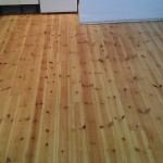 Sanding floor