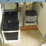 Waste sorting bins14