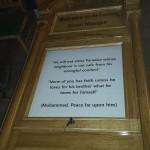 oak information board